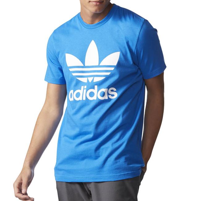 Adidas Originals Trefoil Tee Blue