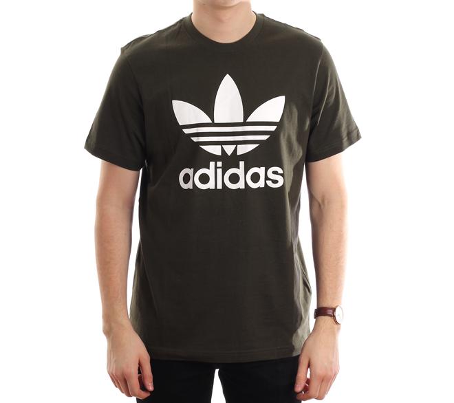 Adidas Originals Trefoil Tee Night Cargo