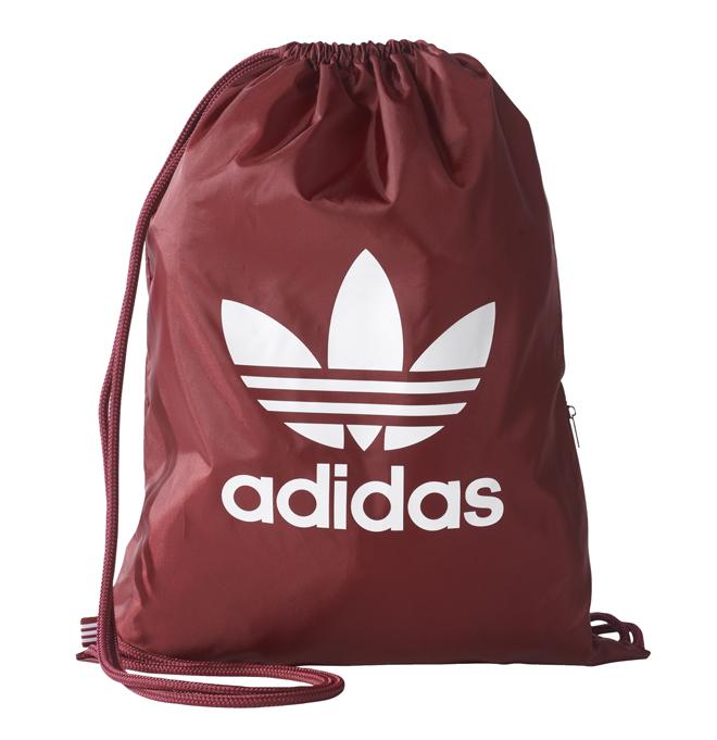 Adidas Trefoil Gym Sack Collegiate Burgundy
