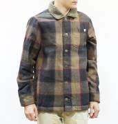 Altamont Levine Jacket Navy / Tan