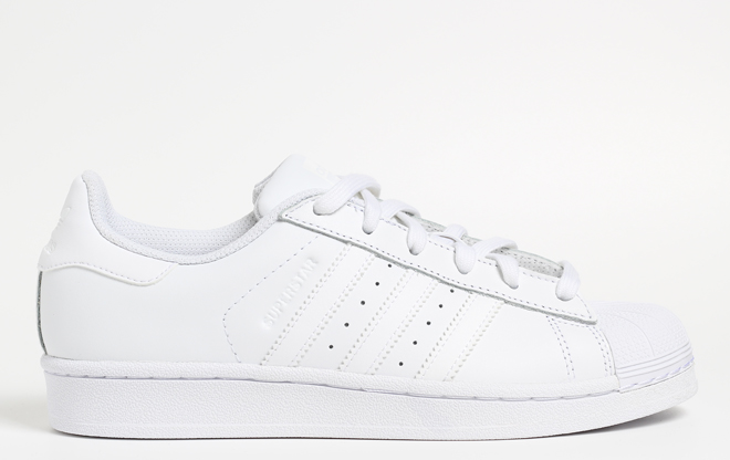 Adidas Superstar White / White