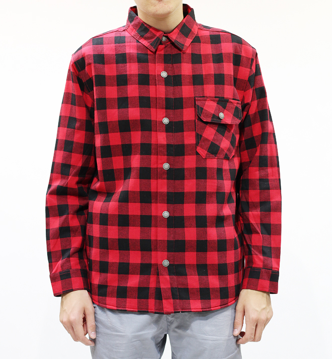 Sweet Captain Padded Red Check