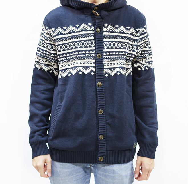 Volcom Kruz Hooded Sweater Navy
