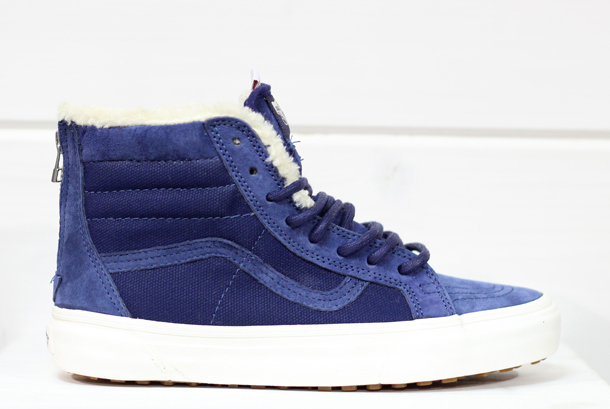 Vans SK8-Hi Zip (MTE) Patriot Blue / Fleece