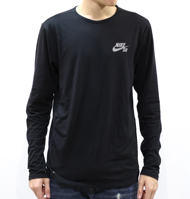 Nike SB Skyline Dri-Fit Cool Crew Black / Reflective