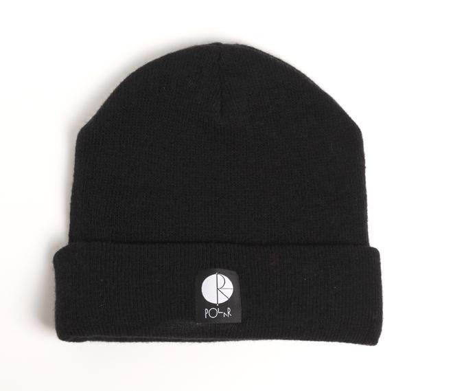 Polar Fill Logo Beanie Black / White