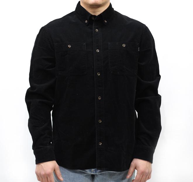 Polar Corduroy Shirt Black
