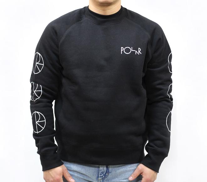 Polar Racing Sweatshirt Black / White