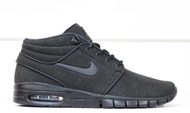 Nike SB Janoski Max Mid L Black / Black / Anthracite