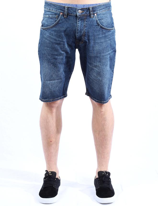 Makia Denim Shorts Washed Blue