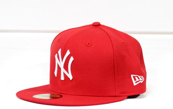 New Era MLB New York Yankees Scarlet