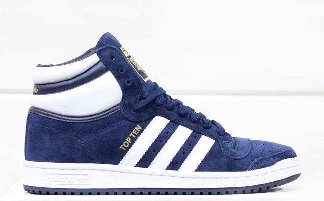 Adidas Top Ten Hi Collegiate Navy / White