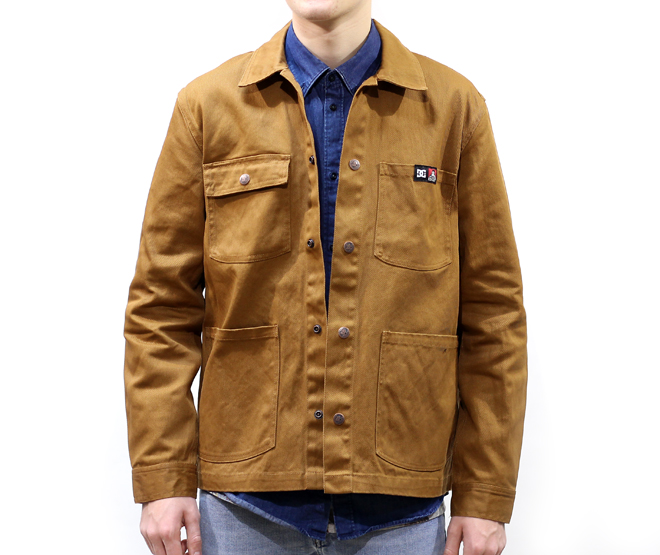 DC Ben Davis Front Snap Jacket Wheat