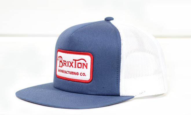 Brixton Grade Mesh Cap Washed Navy