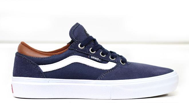 Vans Gilbert Crockett Pro Navy / White / Leather