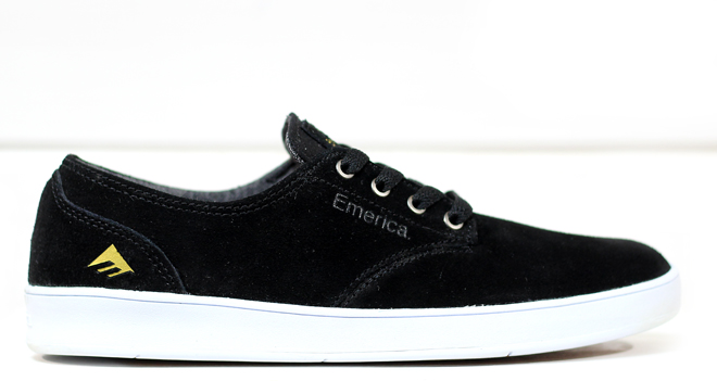 Emerica The Romero Laced Black / White