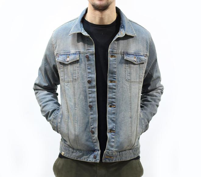 Altamont Ryder Denim Jacket Medium Vintage