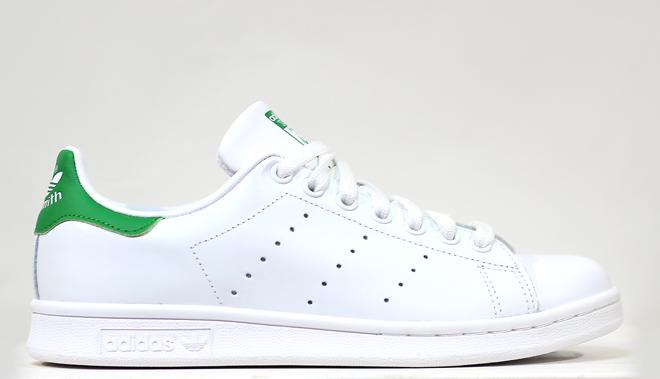 Adidas Stan Smith White / Chalk White / Green