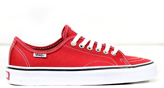 Vans AV Classic Red / White