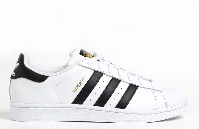 Adidas Superstar White / Black