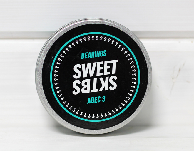 Sweet SKTBS Bearings Chrome Green Abec 3