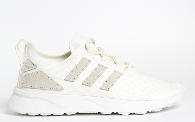 Adidas Womens ZX Flux Verve Off White / Off White