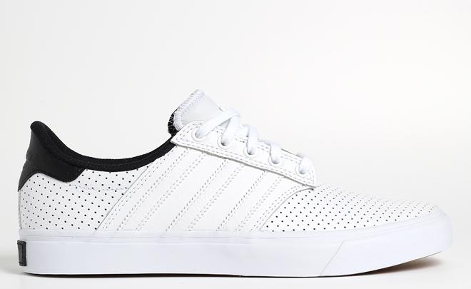 Adidas Seeley Premiere Classified White / Core Black / Beige