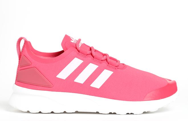 Adidas Womens ZX Flux ADV Verve Lush Pink / Core White