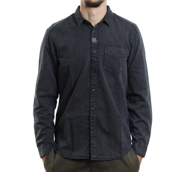 Globe Goodstock Vintage Longsleeve Shirt Tar