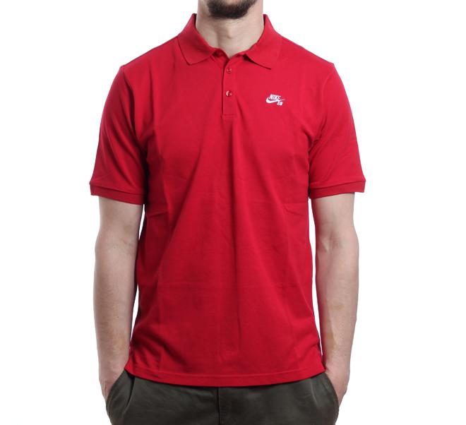 Nike SB Dri-Fit Pique Gym Red / White