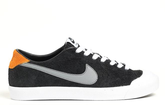 Nike SB All Court CK Black / Cool Grey / Vivid Orange