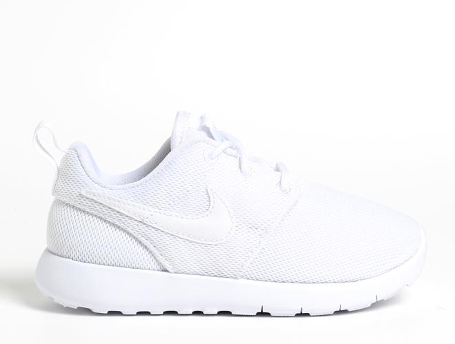 Nike Youth Roshe One White / White