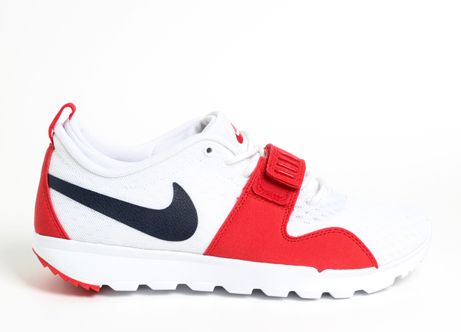 the best attitude 67a43 4986c Nike SB Trainerendor White   Obsidian   University Red - White