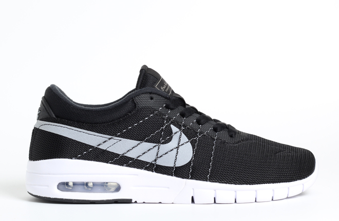 Nike SB Koston Max Black / Wolf Grey - White