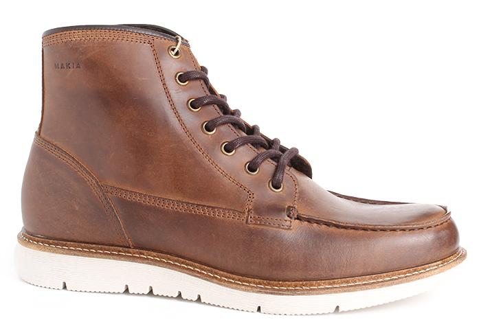 Makia Noux Boot Cognac