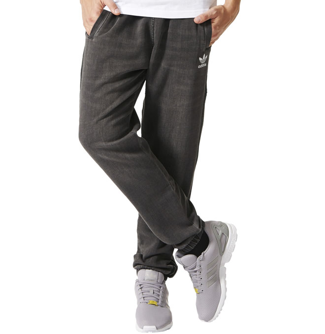 Adidas FTD Slim Track Pants Medium Grey Denim