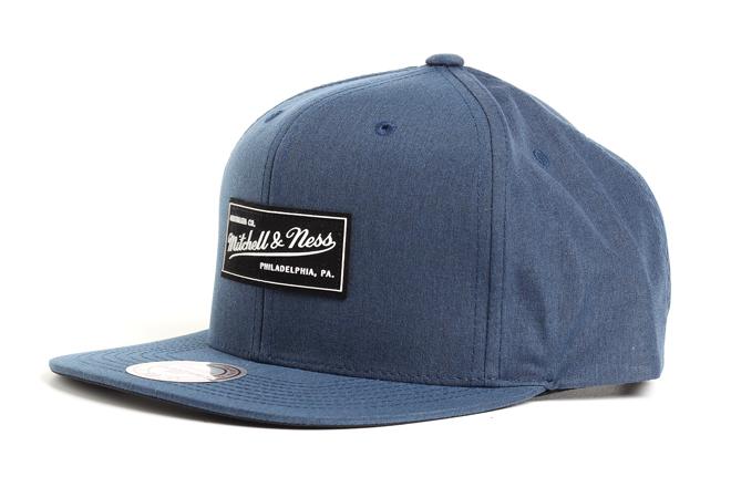 Mitchell & Ness Milo Snapback Blue