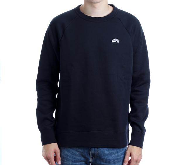 Nike SB Icon Crew Fleece Black / White