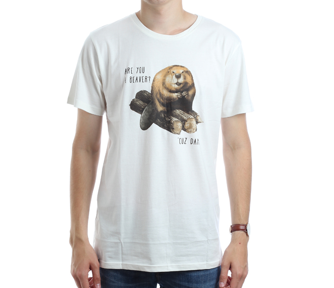 Dedicated Beaver Off-White