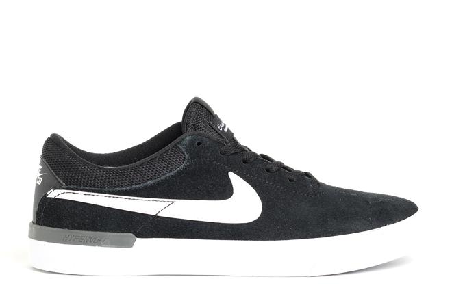 Nike SB Koston Hypervulc Black / White - Dark Grey