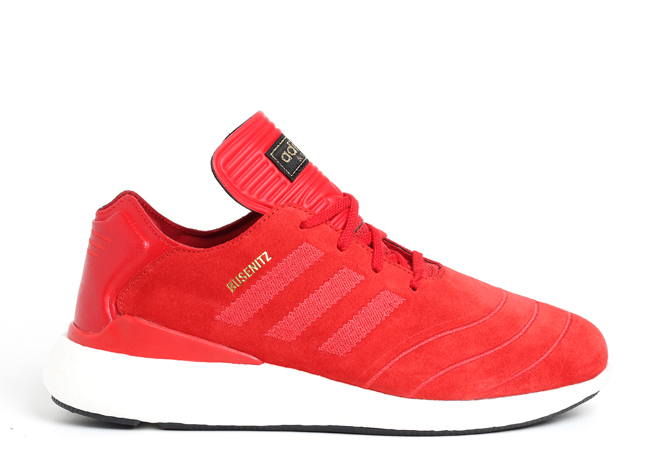 Adidas Busenitz Pure Boost Scarlet / White