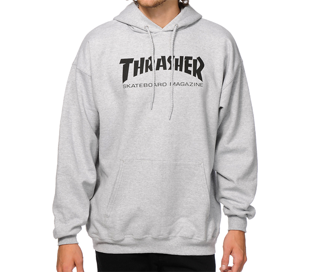 Thrasher Skate Mag Hoodie Grey Heather