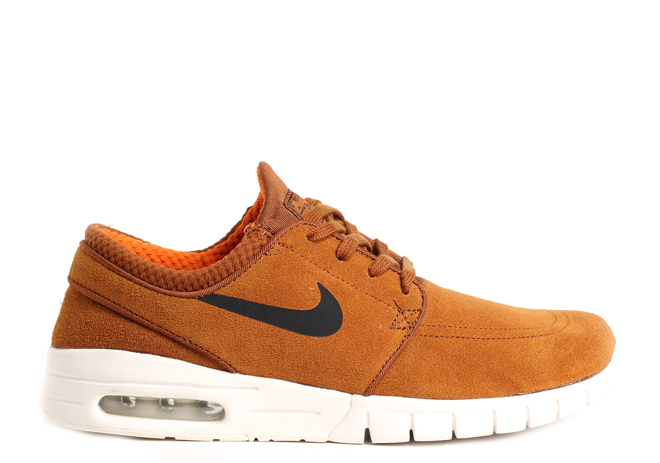 c2af8d80240 Nike SB Janoski Max L Hazelnut   Black   Ivory - Clay Orange ...