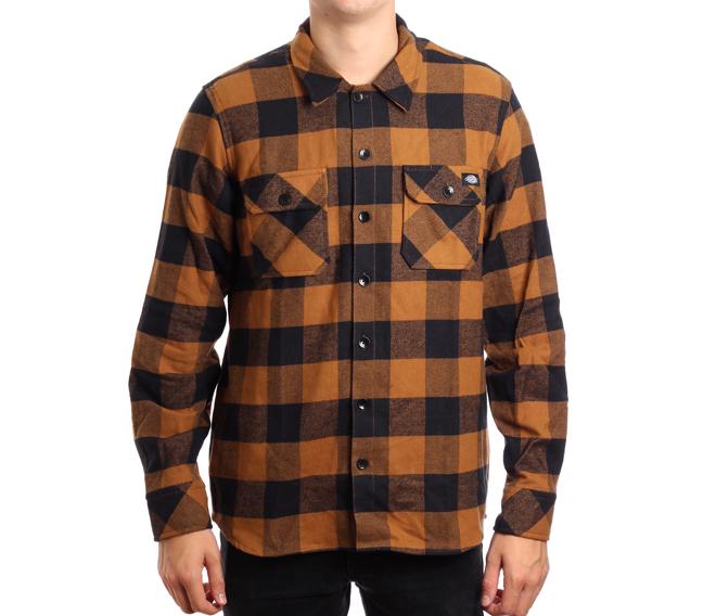 Dickies Sacramento Shirt Brown Duck