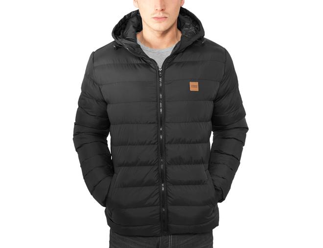 Urban Classics Basic Bubble Jacket Black
