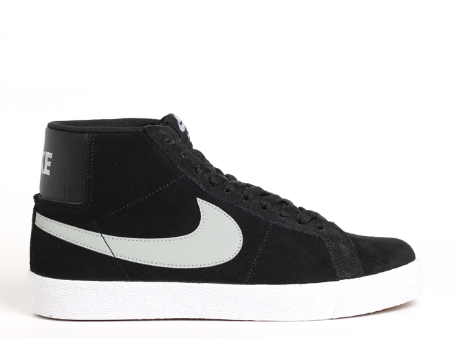 Nike SB Blazer Premium Black / Base Grey - White