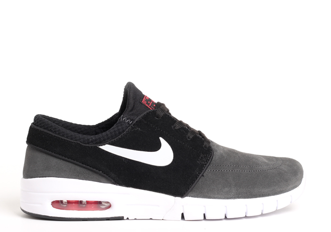 Nike SB Janoski Max L Anthracite / Pure Platinum - Black