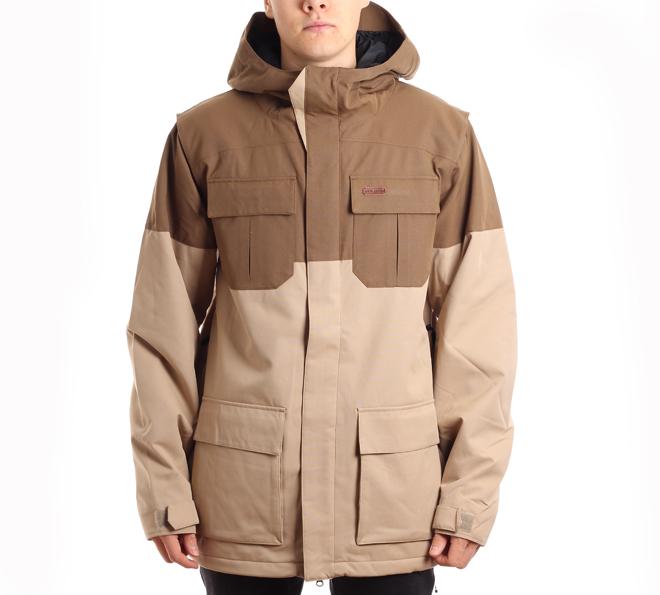 Volcom Alternate Insulated Jacket Khaki