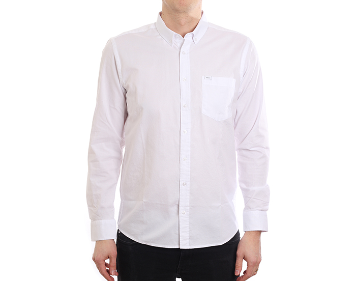 Makia Flagship Shirt White