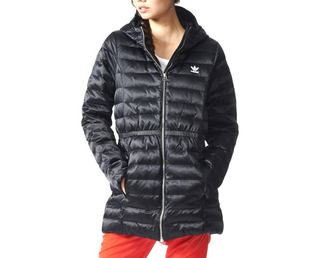 Adidas Womens Slim Coat Black